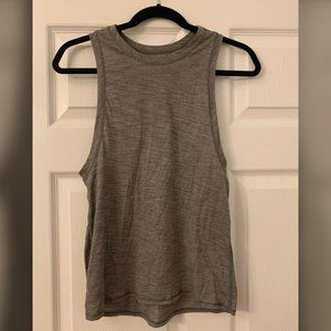 lululemon grey muscle tank size small or 4/6